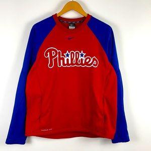 ✨3/$25✨MLB Phillies Logo Nike Pullover Sweatshirt